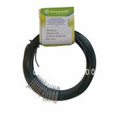 Проволока для подвязки растений, зеленое покрытие, длина 20 м, диаметр 2 мм