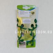 Подвязка для растений лягушка, пластик, 14 см, 2 шт