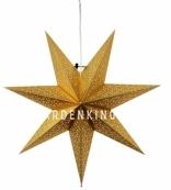 Звезда-подвес DOT STAR, 54 см, золотой