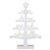 Светильник рождественский FAUNA TREE, 47 см, белый