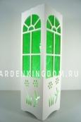 Светильник интерьерный ОКНО В САД, 34 см, зеленый