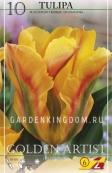 Тюльпан зеленоцветковый  GOLDEN ARTIST, 10 шт