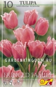 Тюльпан бахромчатый  FRINGED FAMILY, 10 шт