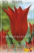 Тюльпан лилейный  PRETTY WOMAN, 10 шт