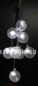 Гирлянда-шарики OCTAVIA, белый