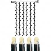 Гирлянда занавес-расширение, 1 м, теплый белый,  серия SYSTEM LED