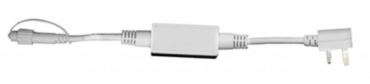 Провод стартовый 1,8 м, белый провод, серия SYSTEM LED
