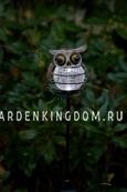 Садовый светильник СОВА  Solar energy, 80 см