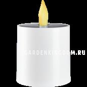 Садовый светильник- свеча SAUL Solar energy, 11 см