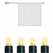 Гирлянда сетка-расширение, 192 лампочки, 3 метра, теплый желтый, серия SYSTEM EXPO