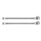 Гирлянда провод-расширение ROPE, 1 м, 2 шт, теплый белый, серия SYSTEM 24