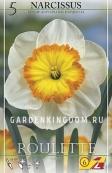 Нарцисс крупнокорончатый  ROULETTE, 5 шт