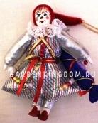 Клоун подвесной малый с конфетой