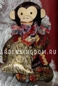 """Кукла подвесная """"Обезьянка с подарком"""""""