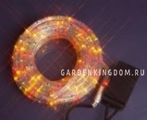 Светящийся провод ROPELIGHT, 8 м, 8 режимов мигания, разноцветный