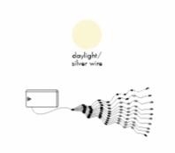 Гирлянда BUNDLE DEW DROP, 80 LED ламп, 10 шт х 80 см, дневной белый
