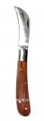 Нож прививочный складной, длина 173 мм
