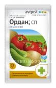 Ордан, препарат для защиты от болезней томатов, огурцов, картофеля (фунгицид), 25 г