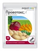 Провотокс, препарат для защиты корнеплодов от проволочника (инсектицид), 40 г