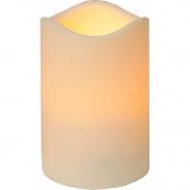 Свеча пластиковая,  11,5 см, бежевый