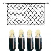 Гирлянда сетка-расширение, 2 м, теплый белый,  серия SYSTEM LED