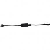 Провод стартовый 1,8 м, черный провод, серия SYSTEM LED
