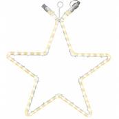 Звезда-расширение ROPE, 55 см, теплый белый,  серия SYSTEM LED
