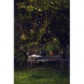 Садовый светильник FIREWORK Solar energy подвесной, 45 см, теплый белый
