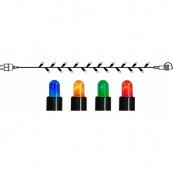 Гирлянда провод-стартовый, 50 лампочек, 5 метров,разноцветный, серия SYSTEM EXPO