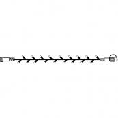 Гирлянда провод-расширение, 5 м, теплый белый,  серия SYSTEM DECOR