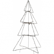Светильник FOLDY  для улицы, высота 180 см, ширина 120 см, черный, теплый белый