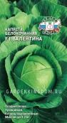 Капуста белокочанная F1 Валентина, 0,1 г.