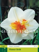 Нарцисс махровый  FLOWER DRIFT, 2 шт