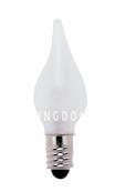 Лампочка 55 V (Вольта), 3 W (Ватта),  патрон Е10,  3 шт., капля