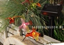 Гирлянда садовых светильников  Птички  Solar energy, 6 ламп, 3,8 м