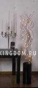 Светильник  ива WILLOW DELUX, 115 см, серебрянный