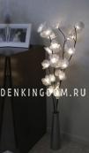 Светильник-ветка  MAGNOLIA, 100 см, белый