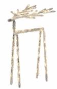 Фигура ICY DEER, 30 см, желтый
