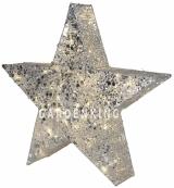 Фигура Звезда SEQUINI, 70 см, серебряный