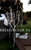 Дерево декоративное TOBBY TREE 3 штуки, 90 см, белый