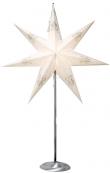 Звезда на подставке TINDRA, 88 см, белый