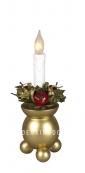 Светильник KUL FROST, 23 см, золото