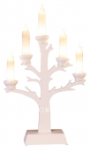 Светильник на батарейках TREE, 44 см, белый