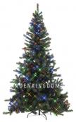 Ель искусственная с лампочками ОТТАВА, 210 см, разноцветные лампы