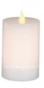 Свеча сенсорная,  10 см, белый воск