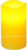 Свеча, 12,5 см, таймер, желтый воск