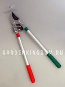 Сучкорез с храповым механизмом и телескопическими ручками