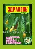 Удобрение Здравень турбо для огурцов, тыквы, кабачков и патиссонов 150 г.